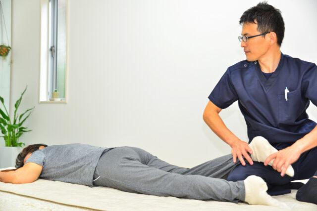 足首くるぶしの痛み施術患者画像