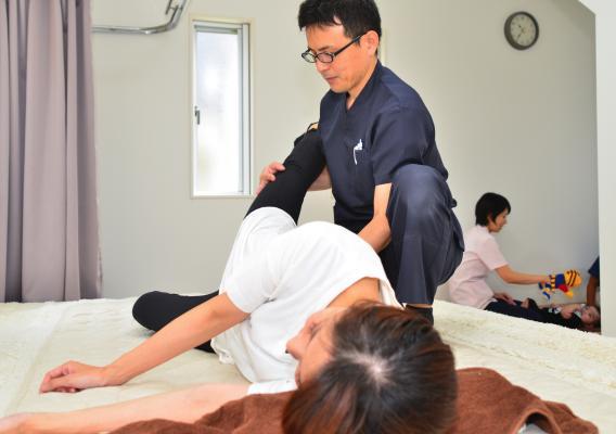 産後の尿漏れ施術患者画像