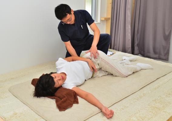 産後の尾てい骨痛施術患者画像