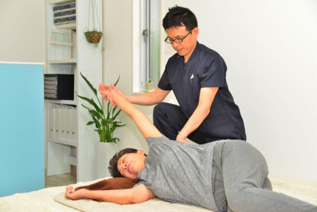 肋間神経痛施術患者画像