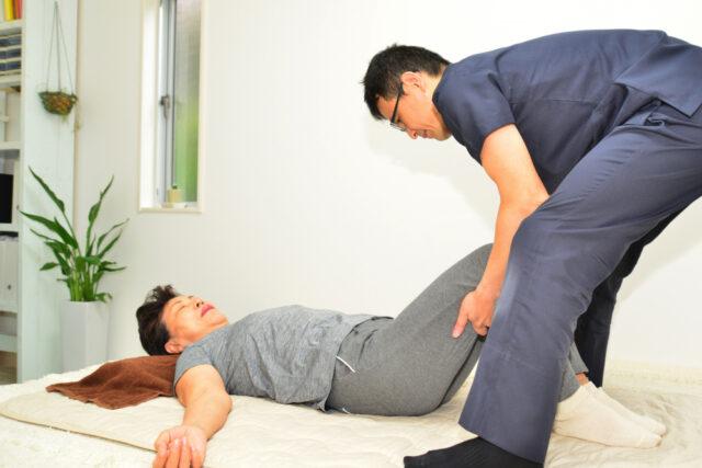 腰部脊柱管狭窄症施術患者画像