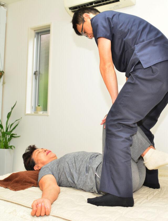 腰椎すべり症施術患者画像