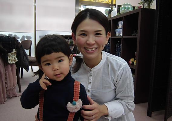『妊娠中の腰痛、産後の骨盤矯正』で来られているママさん