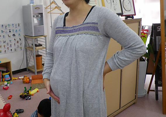 『椅子から立ち上がる時の腰・尾骨の痛み』で整体に来られた妊婦さん