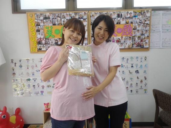 「妊娠中の腰痛」で来られていた妊婦さんが無事卒業!