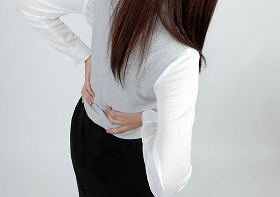 腰痛坐骨神経痛イメージ図