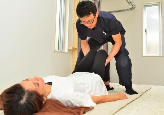 反り腰矯正施術患者画像