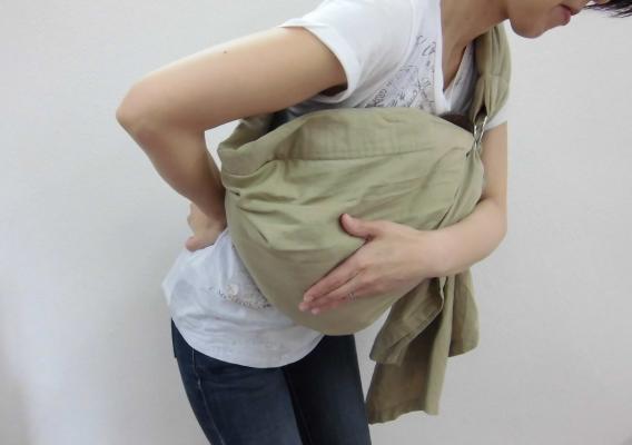 産後の腰痛イメージ図