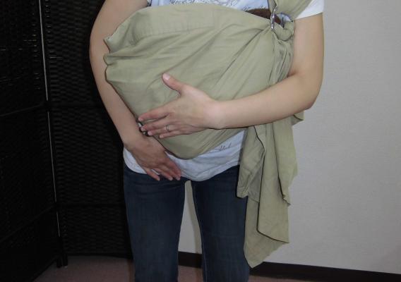 産後の股関節痛イメージ図