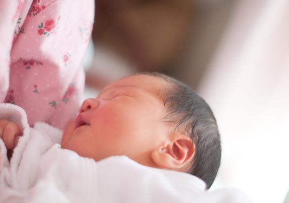 産後の尿漏れイメージ図