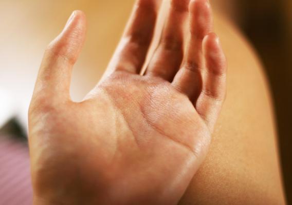 手根管症候群イメージ図