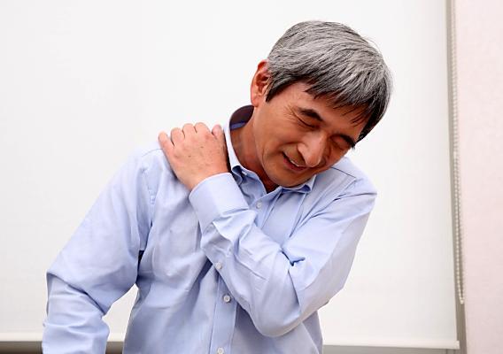 胸郭出口症候群イメージ図